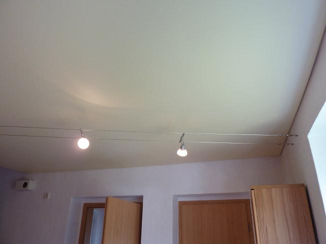 Spanndecke perfekt dresden freital sachsen bundesweit for Deckendesign wohnzimmer